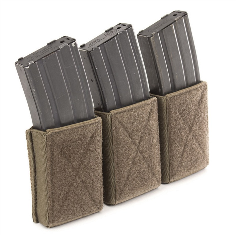 The Triple Velcro Mag Pouch M4 By Warrior Assault Sticks